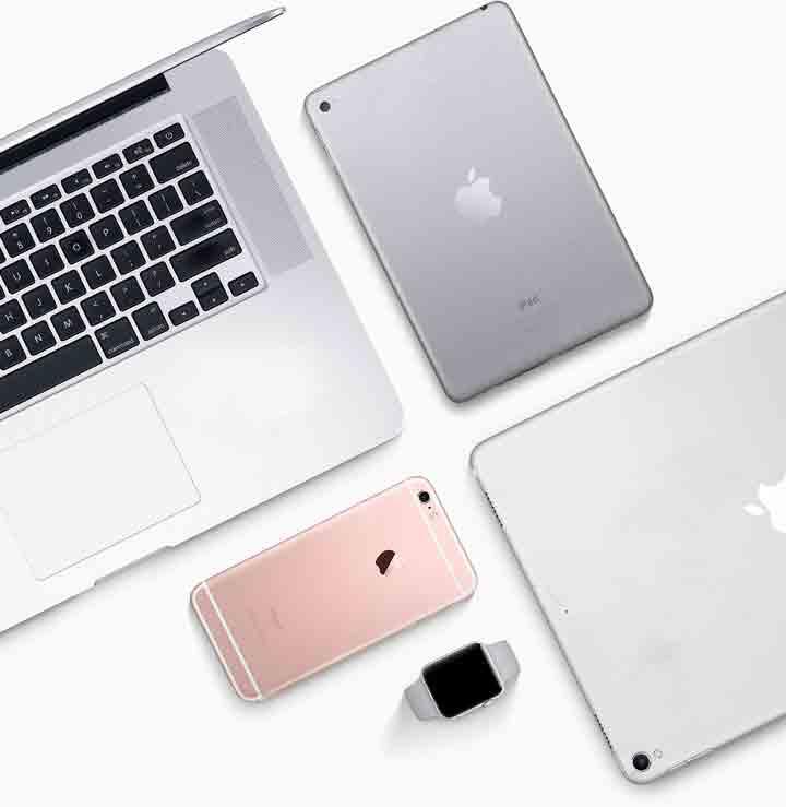 خدمات نرم افزاری محصولات اپل: